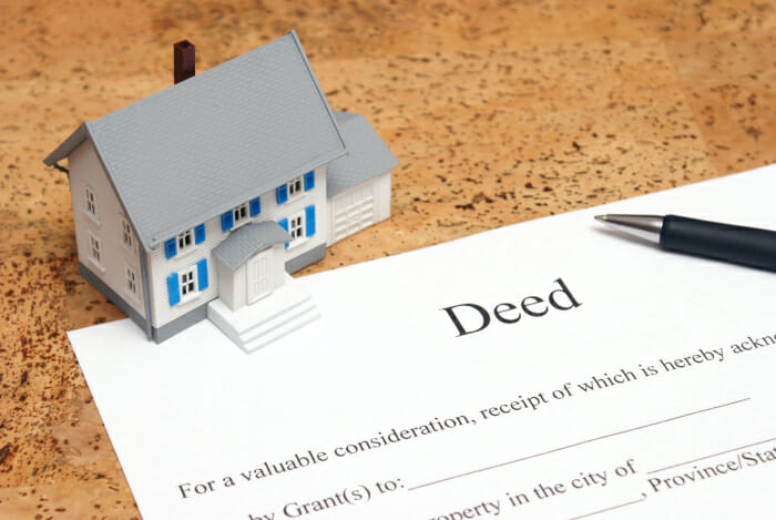 Curative Title Solutions Deed Typing